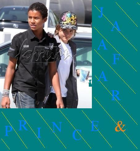 Prince&Jaafar <i Amore the picture>