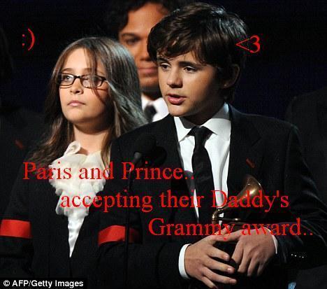 Prince and Paris..