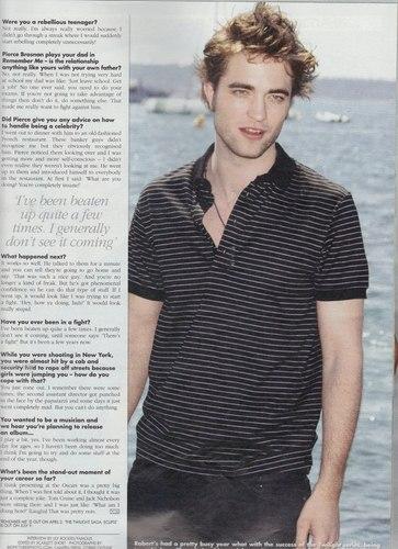 "Robert Pattinson ""The Confused Romantic"""