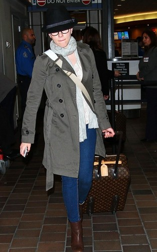 Scarlett at LaGuardia Airport (March 23)