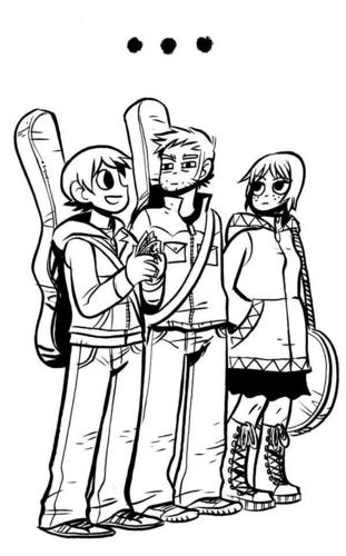 Scott Pilgrim and Друзья