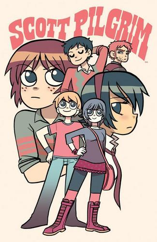 Scott Pilgrim fond d'écran titled Scott Pilgrim and Friends