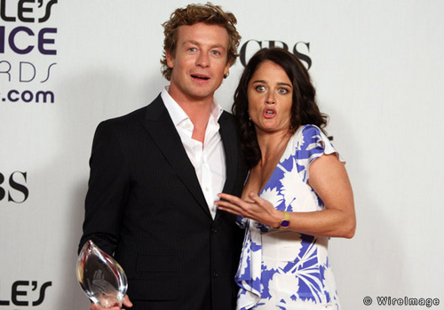 Simon Baker wallpaper entitled Simon and Robin