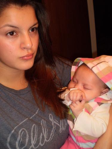 Sofiya and baby rosalie