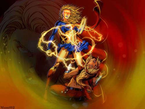 Supergirl & Wondergirl