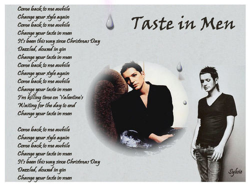 Taste In Men - brian-molko Fan Art