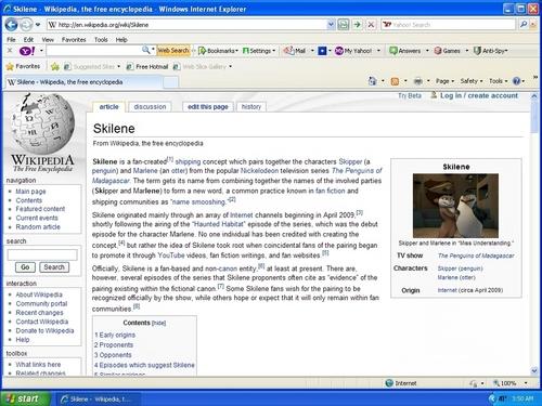 "The Skilene ""Wikipedia"" Page"