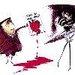 Tim Burton's Valentine's giorno Card icona