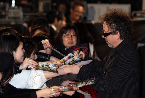 Tim برٹن @ the Japanese Premiere of 'Alice In Wonderland'