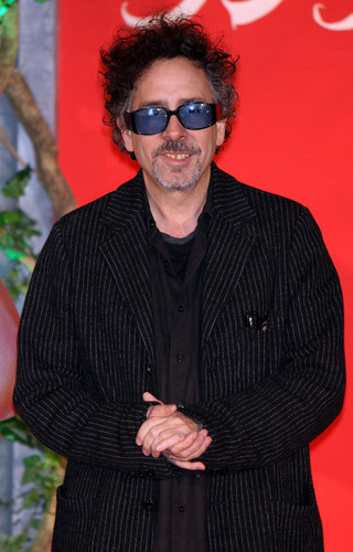 Tim burton @ the Japanese Premiere of 'Alice In Wonderland'