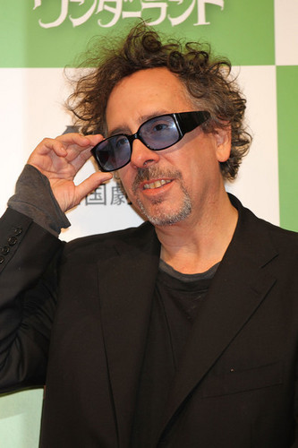 Tim Burton @ the Japanese Press Conference for 'Alice In Wonderland'