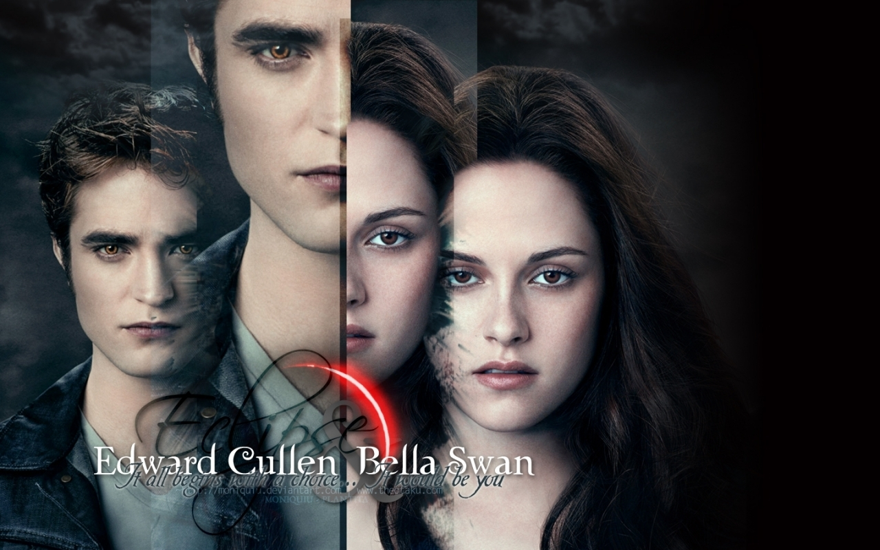 Twilight Saga: Eclipse B&E - twilight-series wallpaper