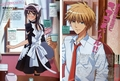 Usui and Misaki - kaichou-wa-maid-sama photo