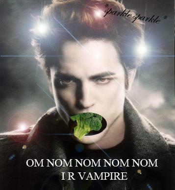 Vegetarian Vamp: om nom nom nom