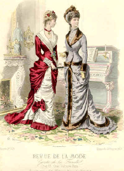 Victorian Wedding Gown on Vintage Dresses From The Victorian Era   Vintage Fan Art  11065546