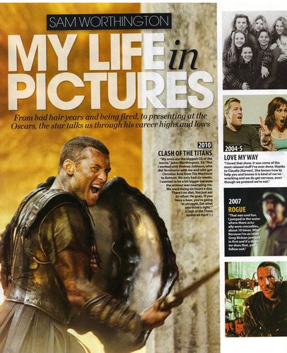 Sam Worthington wallpaper titled Who Magazine Australia Scan (April 5th)