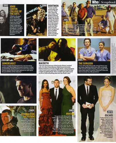 Who Magazine Australia Scan (April 5th)