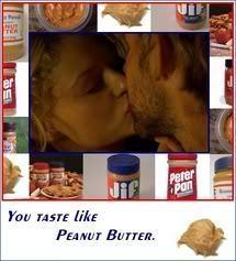 You taste like mani butter! LOL