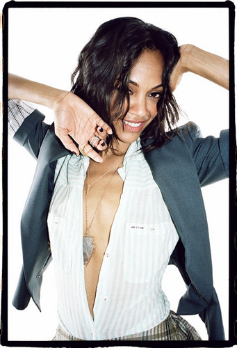 Zoe Saldana | Nylon Magazine Photoshoot
