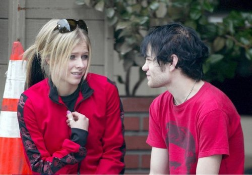 avril and deryck 2005