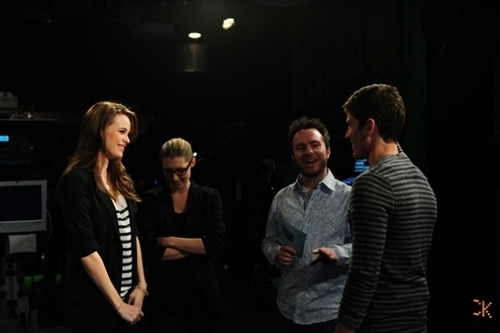 danielle on Attack of the Show – Behind the Scenes