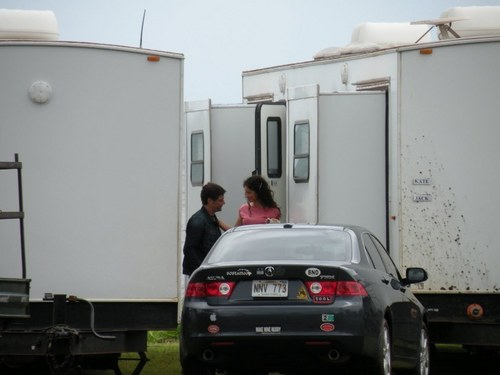 matthew fox+evangeline lilly- Set lost 6