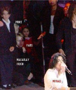 michael,prince,paris and macaulay culkin