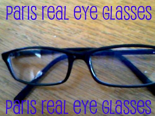 paris real eye glasses