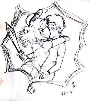 percabeth baciare