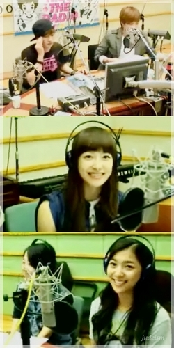 F(x) wallpaper titled recording station?