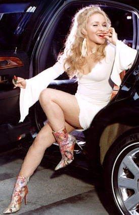 she can drive me anywhere