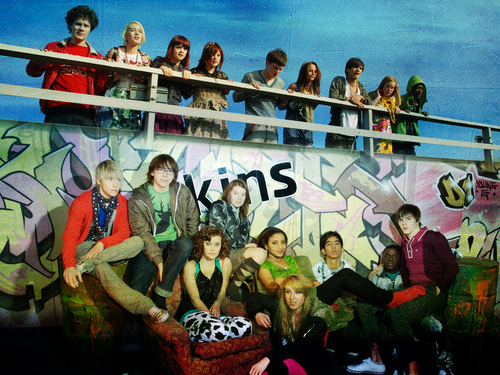 Skins wallpaper titled skins cast