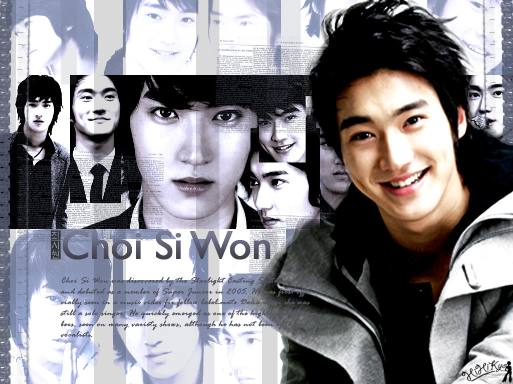 Work of Art, Choi Si Won  Super Junior Wallpaper 11053777  Fanpop