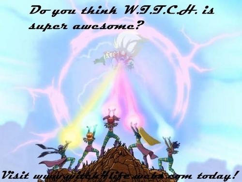 W.I.T.C.H Team Power!