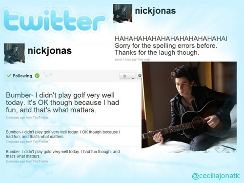 @nickjonas on twitter