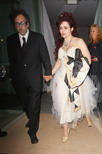 Alice In Wonderland Stars leaving Alice In Wonderland Royal Premiere after party