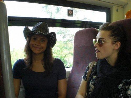 অ্যাঞ্জেল is happy but Katie is not