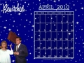 April 2010 - Bewitched (calendar) - bewitched wallpaper