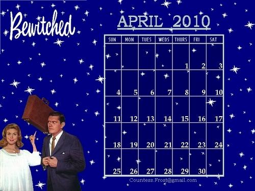 April 2010 - Моя жена меня приворожила (calendar)