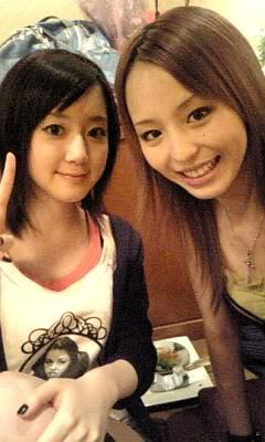 Aya Hirano and a fan of hers