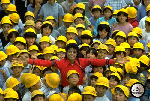 Michael Jackson wallpaper called Bad Era / 1987 / Japan Visit 1987