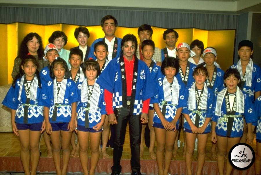 Michael jackson bad era 1987 japan visit 1987