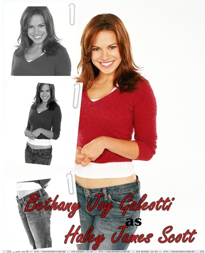 Bathany Joy Galeotti/Haley James Scott