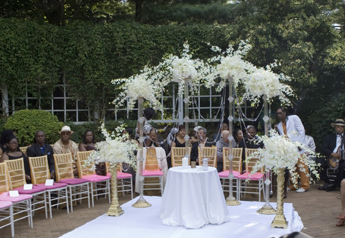 Bayyina's Marie Antoinette Inspired Wedding