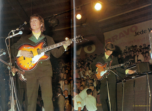 Beatles in Germany 1966 Color