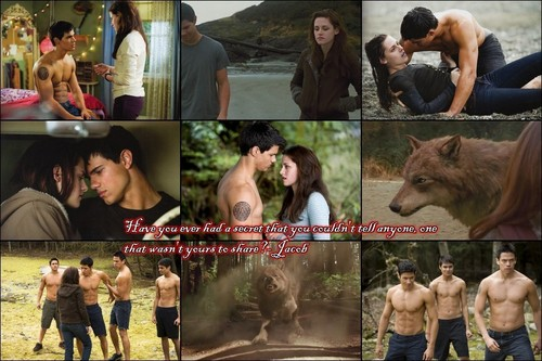 Bella and Jacob Collage