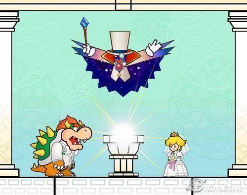 Bowser and Princess pfirsich