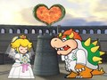 Bowser and Princess Peach
