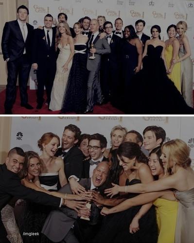 Cast @ Golden Globes 2010