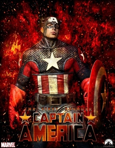 Chris Evans: Captain America Posters